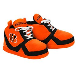NFL Cincinnati Bengals 2015 Sneaker Slipper, Large, Orange