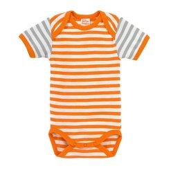 Giggle Better Basics Baby's French Terry Sweatshirt - Orange - Size: Baby