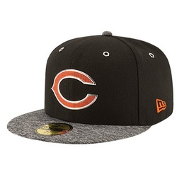 New Era Men's NFL Chicago Bears Cap - Black - Size: One Size