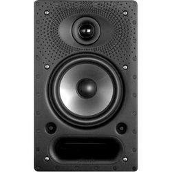 Polk Audio 65RT 2-way In-wall wired 125 W Speaker- 65-RT- Black