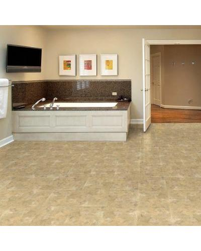 Trafficmaster 12 X 12 Beige Slate Solid Vinyl Tile 30 Sq Ft