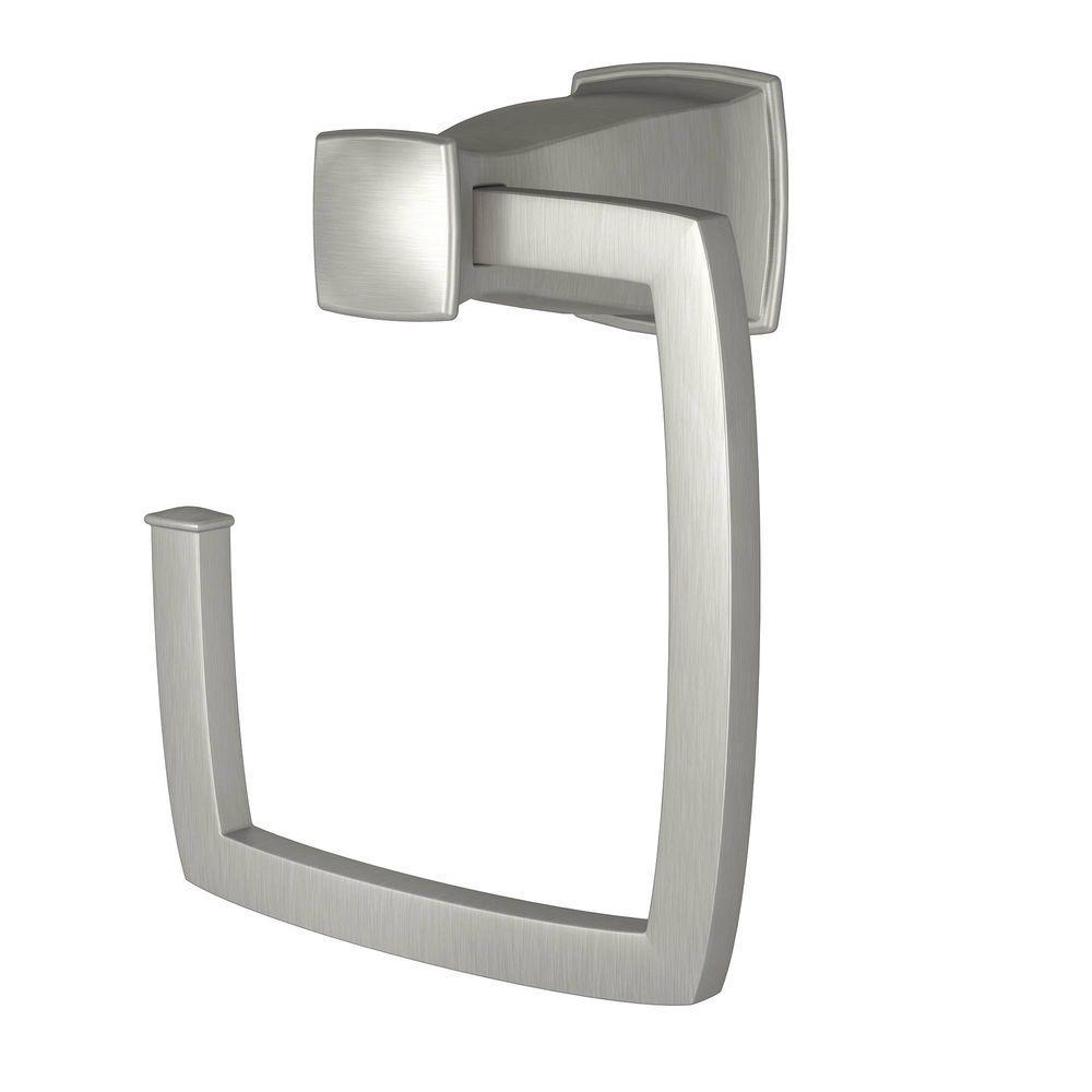 5376847ed176 ... Moen Hensley Towel Ring - Spot Resist Brushed Nickel (Y3586BN) ...