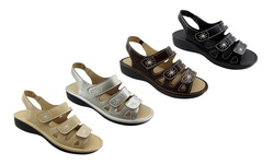Ny Vip Dora Women's Sandals Silver size: - 6