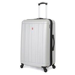 """SwissGear Silver Hardside Spinner Luggage: 28"""""""