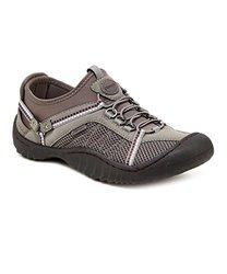 JSport by Jambu Women's Compass Shoes - Grey/Purple - Size: 8 M