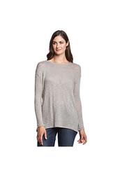 DKNY Jeans Overlap Back Sweater - Pebble - Size: Medium