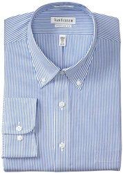 Van Heusen Men's Stripe Dress Shirt - Blue - Size: 16-1/2 x 34/35
