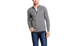 Raffi Men's Cashmere Sweater - Ply Tweed - Size: 6