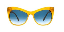 Elizabeth and James Women's Sunglasses - Milky Yellow/Blue - One Size