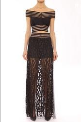 Shakuhachi Women's Avalon Lace Skirt - Black - Size: Small
