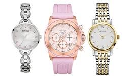 Bulova Women's Watch: Two-tone Bracelet/silver Dial