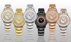 SO & CO Women's Bracelet Watch- Band: Silver/ Dial: Silver (GP15968)