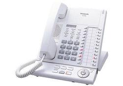 Panasonic 24 Button Digital Corded Telephone - White