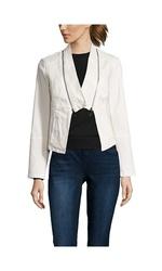 Stella Carakasi Long Sleeve Jacket - White - Size: Medium