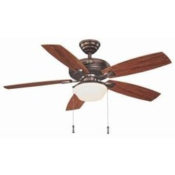"Hampton Bay YG188-WB Gazebo II 52"" Weathered Bronze Ceiling Fan"