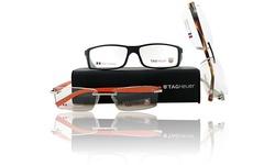 TAG Heuer Optical Frame: Orange Rimless