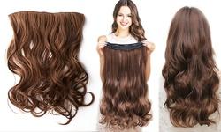 Women's Secret Clip-in 18-inch Hair Extensions - Wavy Medium Blonde