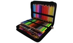 Colored Pencil Set & Zippered Case 150/Pkg