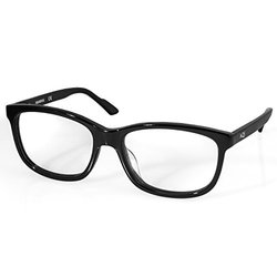 Aqs Acetate Optical Glasses: Ocol01/Black Frame