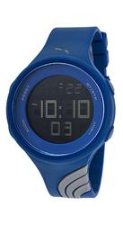 Puma Men's Twist Digital Display Quartz Blue Watch- Grey Navy - Size: L