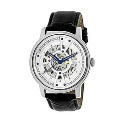 Reign Belfour Men's Watch: 3601/black Band-white-silver Dial