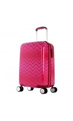 Olympia T-Line Gam 29-Inch Hardside Spinner Luggage - Pink