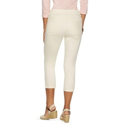 Chaps Women's Pull On Capris - Cream - Size: M