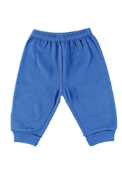 Under The Nile Baby Boy's Roll Over Pants - Blue - Size: 0-3 Month