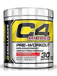 Cellucor - C4 Ripped Pre-Workout- Fruit Punch 30 servings