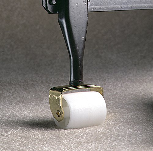 Shepherd 2-1/8 in. Plastic Bed Frame Casters with Sockets - Pack of ...