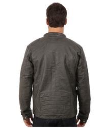Steve Madden Men's PU Jacket - Grey - Size: Large