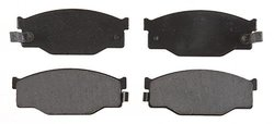 ACDelco 17D300 Professional Organic Front Disc Brake Pad Set