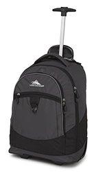 High Sierra Chaser Wheeled Backpack: Mercury/Black