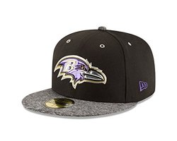 New Era NFL 59Fifty On Stage Cap - Men's Baltimore Ravens