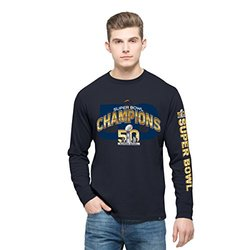 NFL Denver Broncos 2015 super Bowl Tee - Fall Navy - Size: Small