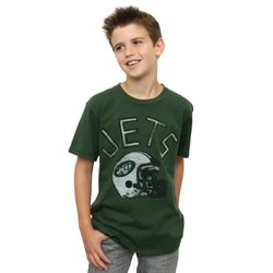 Junk Food NFL New York Jets Kickoff Crew T-Shirt -Size: Youth Large