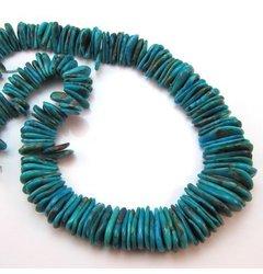 Elan Beads Petals Beads, Blue, Turquoise