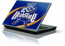 "Skinit Protective Skin Fits Latest Generic 13"" Laptop/Netbook/Notebook (Utah State University Mascot)"