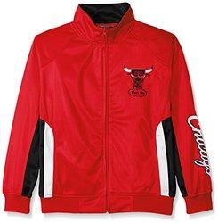 NBA Chicago Bulls Tricot Track Jacket Logo WordMark - Size: Youth X-Large