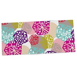 """KESS InHouse Agnes Schugardt """"Pie In The Sky"""" Rainbow Abstract Office Desk Mat, Blotter, Pad, Mousepad, 13 x 22-Inches"""