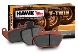 Hawk Performance HMC78HH Metallic Motorcycle Brake Pad Set