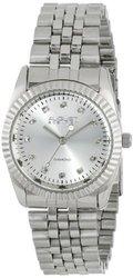 August Steiner Women's Diamond & Stainless-Steel Watch - Silver-tone