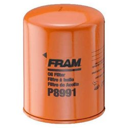 Fram Heavy Duty By-Pass Spin-On Oil Filter - P8991 - Lot of 2