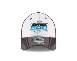 Kid's Daytona International Speedway Alt Cap - White/Graphite -Child/Youth