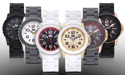 Wohler Wolfgang Men's Watch - Black/Green Dial