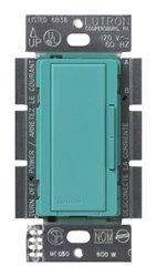 Lutron Maestro 600-Watt Accessory Dimmer Switch - Turquoise (MSC-AD-TQ)