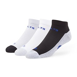 '47 NFL Indianapolis Colts Men's Rush Sport Low-Cut Socks - Size: Medium - 3-Pack
