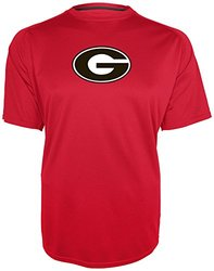 NCAA Georgia Bulldogs Men's Training 2 T-Shirt - Athletic Red - Size: L