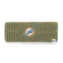 NFL Miami Dolphins Women's '47 Prima Twisted Headband - Neptune