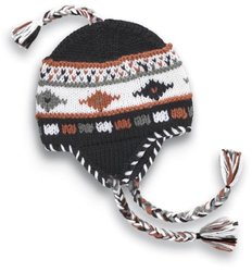 Seirus Innovation Machu Hat,Black/White